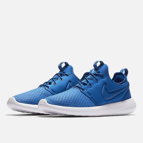 promo code 8a5df 1f7de Nike ROSHE TWO SE Men's Running Shoes - Blue Jay NWT